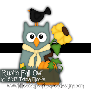 Rustic Fall Owl