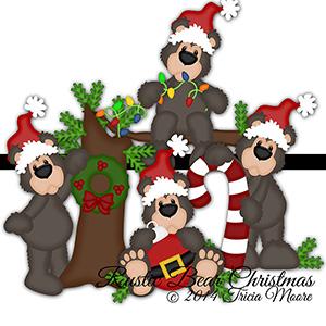 Rustic Bear Christmas
