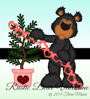 Rustic Bear Valentine