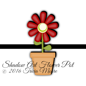 sa Shadow Flower Pot