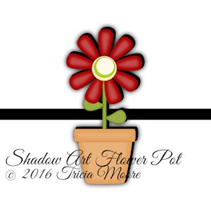 sa Shadow Flower Pot