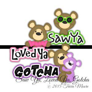 Saw Ya, Loved Ya, Gotcha