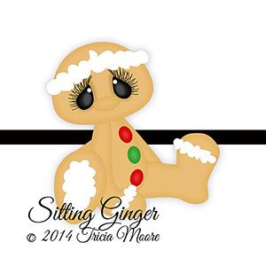 Sitting Ginger