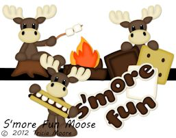 S'more Fun Moose