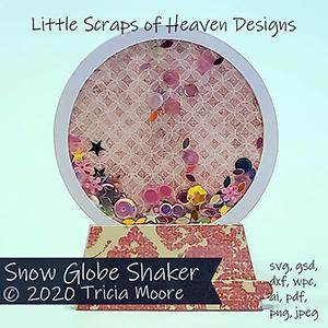 Snow Globe Shaker