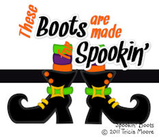 Spookin' Boots
