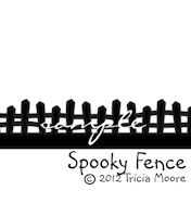 Spooky Fence Border