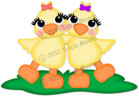 Spring Chicks Pattern Set