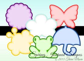Spring Journal Shapes