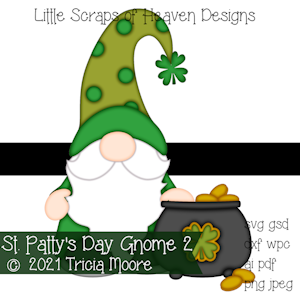 St. Patty's Day Gnome 2