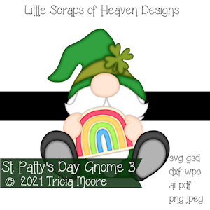 St. Patty's Day Gnome 3