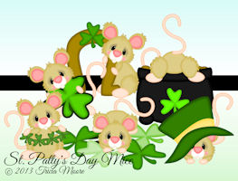 St. Patty's Day Mice
