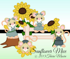 Sunflower Mice