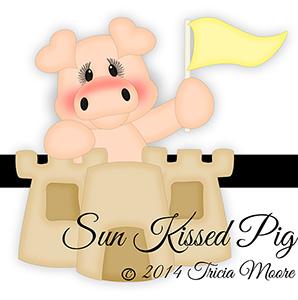 Sun Kissed Pig