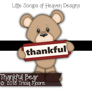 Thankful Bear