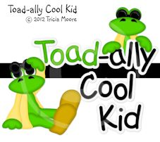 Toadally Cool Kid