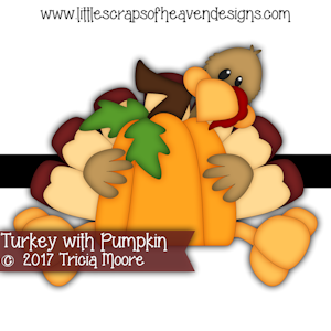 Turkey with Pumpkin