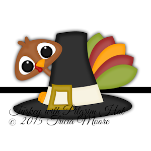 Turkey with Pilgrim Hat