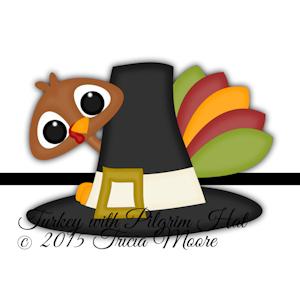 Turkey with Pilgrim Hat