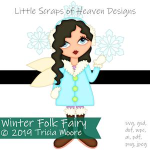Winter Folk Fairy