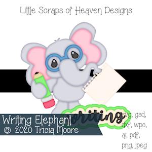 Writing Elephant