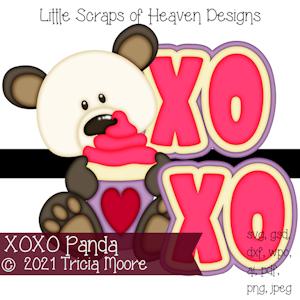 XOXO Panda
