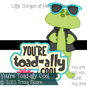You're Toad-ally Cool
