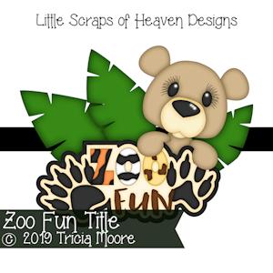 Zoo Fun Title