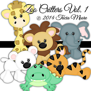 Zoo Critters Vol. 1